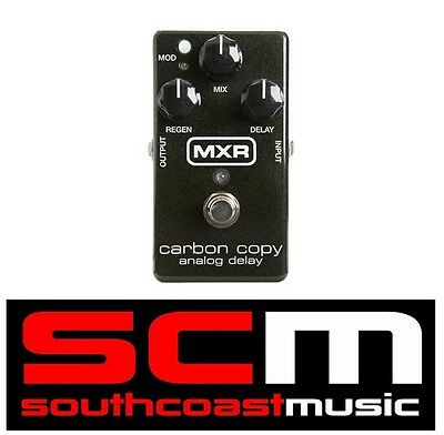 M169 Carbon Copy Analog Delay Electric Guitar Effects Fx Pedal Jim Dunlop Mxr • 136.11£