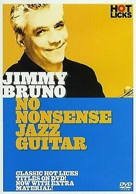 Jimmy Bruno No Nonsense Jazz Guitar Hot Licks Dvd Hot210 Learn To Play Tuitional • 28.04£