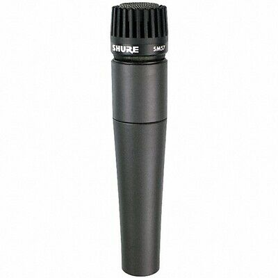 NEW Shure SM57 Instrument Microphone SM-57/LC Mic Free US 48 State Shipping! • 74.19£
