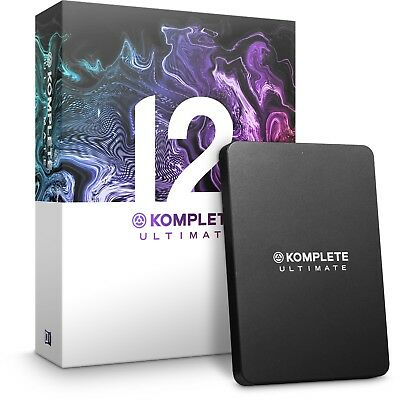 Native Instruments Komplete 12 Ultimate Huge Music Production Software Bundle • 939£