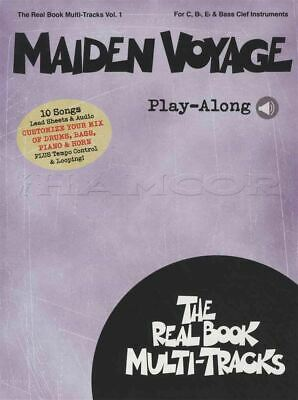 Maiden Voyage Real Book Multi Tracks Sheet Music Book & Audio C Bb Eb Bass Clef • 14.64£