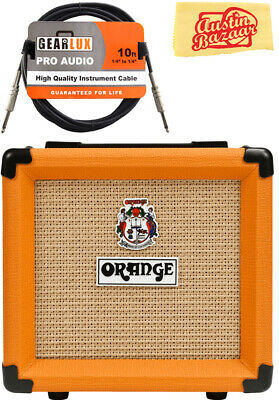 Orange PPC108 1x8-Inch Closed-Back Speaker Cabinet W/ Instrument Cable • 72.90£