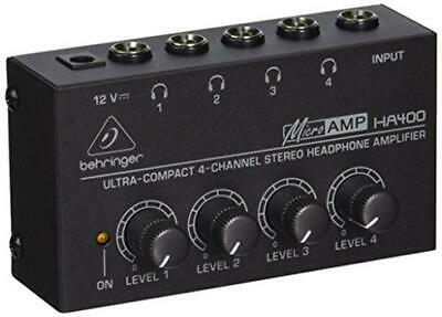 Behringer HA400 Microamp 4 Channel Stereo Headphone Amplifier  • 21£