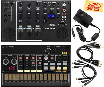 Korg Volca Beats Analogue Drum Machine W/ Volca Mix • 230.68£