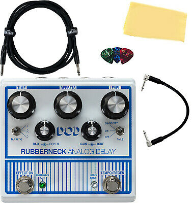 DigiTech DOD Rubberneck Analog Delay Pedal W/ Cables • 195.36£