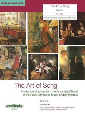 The Art of Song Grade 8 Low Voice Revised & Expanded Edition Low Voice and Piano