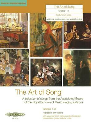 The Art of Song Grades 1-3, Medium-Low Voice Revised & Expanded Edition Medium o