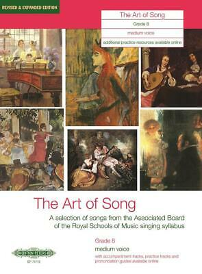 The Art of Song Grade 8 Medium Voice Revised & Expanded Edition Medium Voice and