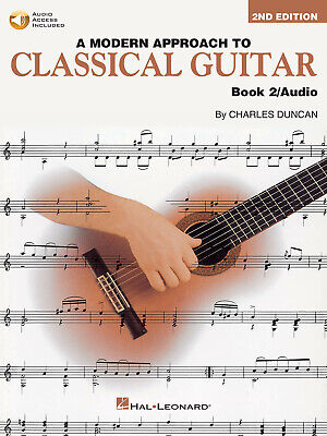A Modern Approach To Classical Gtr Book 2  Guitar  Book with Audio-Online HL0069