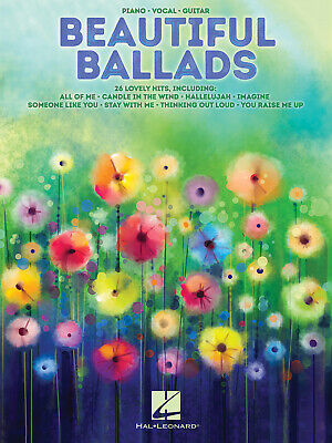 Beautiful Ballads  Piano, Vocal And Guitar  Book Only HL00248471 • 11.95£