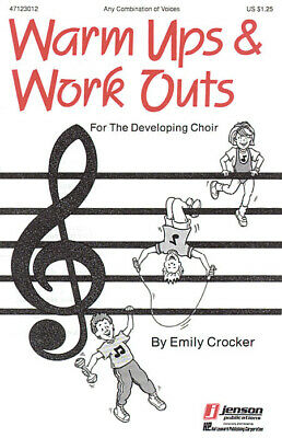 5 Copies Warm-Ups And Workouts For The Developing Choir (I)  Vocal And Piano Cho • 9.95£