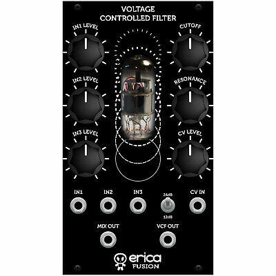 Erica Synths Fusion VCF V2 Low Pass Filter Eurorack Module • 254.60£