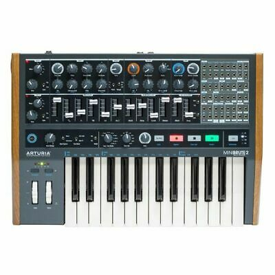 Arturia MiniBrute 2 Analogue Synthesizer & Sequencer Keyboard • 572.19£