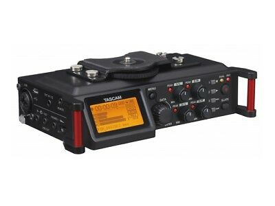 TASCAM DR-70D 4-Track Audio Recorder For DSLR With XLR Inputs And A Stereo Mic • 307.03£
