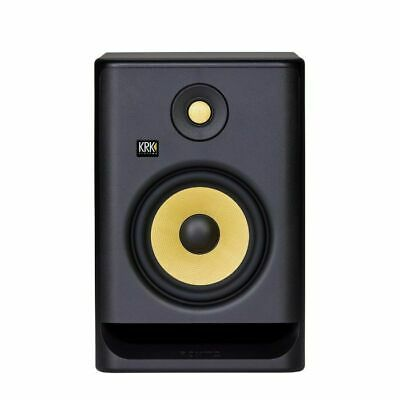 KRK Rokit RP7 G4 Active Studio Monitor Speaker (single, Black With Yellow Cone) • 186.58£