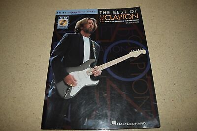 <a> Hal Leonard The Best Of Eric Clapton Guitar Music Book - Cd Included