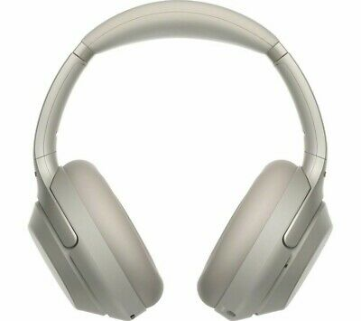 Sony WH-1000XM3 Wireless Bluetooth Noise-Cancelling Headphones - Silver • 229.99£