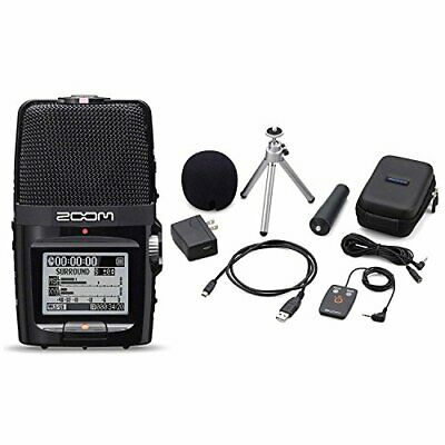 Zoom H2n Handy Handheld Digital Multitrack Recorder Bundle With APH-2n Access... • 150£