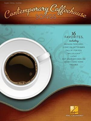 Contemporary Coffeehouse Songs, Hal Leonard Corp., Acceptable Paperback Book • 12.21£
