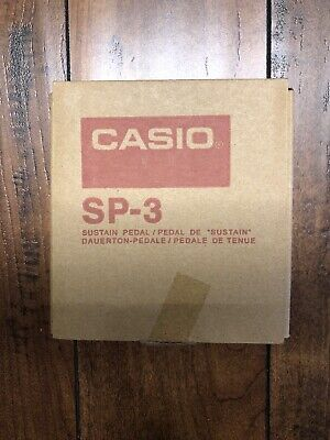 Casio SP-3 SUSTAIN Or DAMPER Pedal For Digital Piano & Electronic Keyboard • 15.50£
