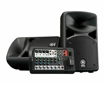 Yamaha STAGEPAS 400BT 400W 8-Channel Powered Mixer/Bluetooth Speaker Combo • 613.91£
