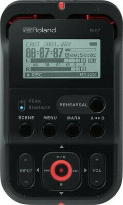 Roland R-07-RD High Resolution Handheld Field Auto Recorder - Red • 107.13£