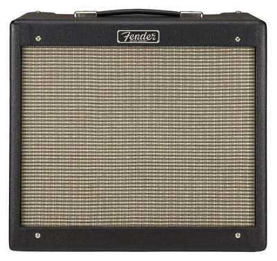 FENDER BLUES JUNIOR IV Black Amplificatore VALVOLARE 15 WATT POTENTISSIMO,NUOVO. • 559.26£
