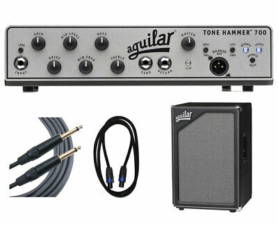 Aguilar Tone Hammer 700 + SL 212 Cabinet + Cables • 1,763.80£