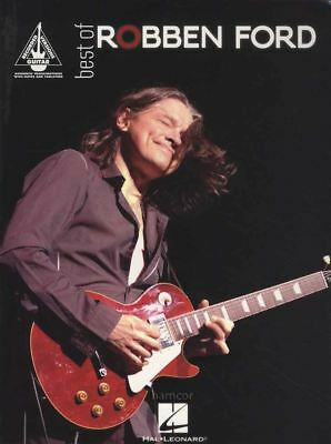 Best of Robben Ford Guitar Recorded Versions TAB Music Book