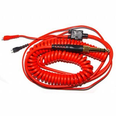 Zomo Replacement Deluxe Coiled Cable For Sennheiser HD25 (red, 3.5m) • 34.99£