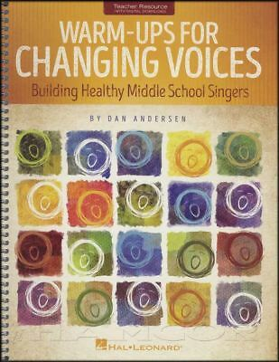 Warm-Ups For Changing Voices Vocal Music Book Building Middle School Singers • 22.28£