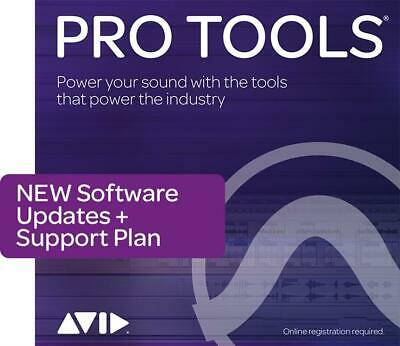 Pro Tools 1-Year Updates & Support Boxed Activation Card  Software (Physical Pro • 274.45£