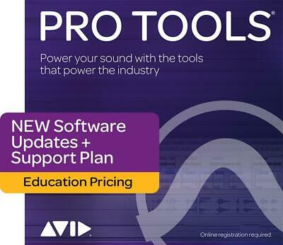 Pro Tools 1-Year Updates & Support - Education Boxed Activation Card  Software ( • 96.95£