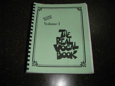 Ex Condition Hal Leonard 2nd Ed Volume I The Real Vocal Book 348 Selections • 14.17£
