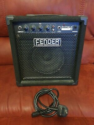 Fender Rumble 15 Bass Guitar Amp. Excellent Condition With Power Lead. • 21£
