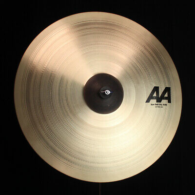Sabian 21  AA Raw Bell Dry Ride - 3158g (video Demo) • 242£