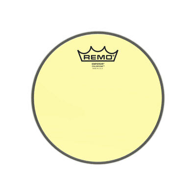 Remo Emperor Colortone Yellow 13'' Drum Head • 20.99£