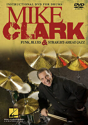 Mike Clark Funk Blues Jazz Drum Lessons Learn To Play Video Hal Leonard DVD • 20.12£