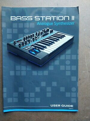 Novation Bass Station II User Guide Manual • 9.99£
