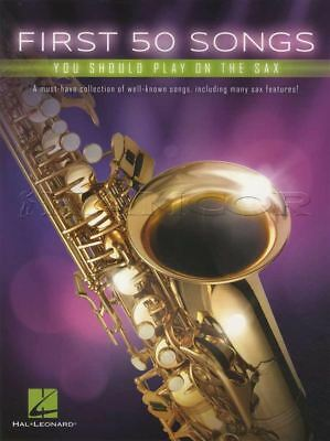 First 50 Songs You Should Play On The Sax Alto Saxophone Sheet Music Book Jazz • 7.81£