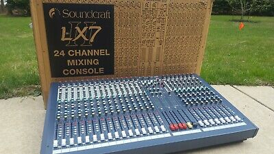 Soundcraft LX7ii 24 Channel Analog Powered Audio Mixer Console • 919.47£