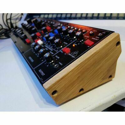 Synths & Wood Solid Oak End Cheeks Stand For Behringer Model D, Neutron & Pro... • 39.99£