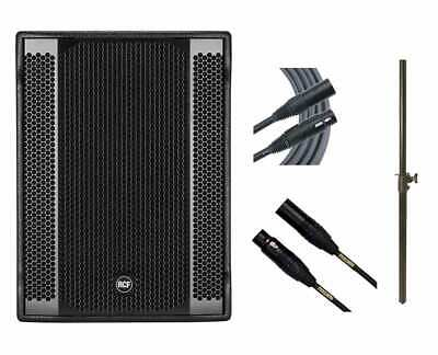 RCF SUB 8003-AS II Subwoofer Active Sub + Mogami Cables + Mounting Pole • 1,616.92£