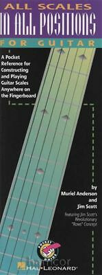 All Scales In All Positions For Guitar Book • 7.99£