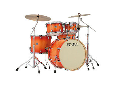 Tama CL52KRS-TLB Superstar Classic Drum Kit Shell Pack , Tangerine Lacquer Burst