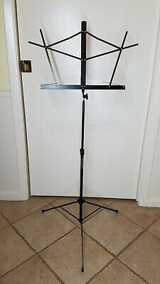 On Stage Stands Sheet Music Stand Black Compact Collapsible SM7122B • 11.49£