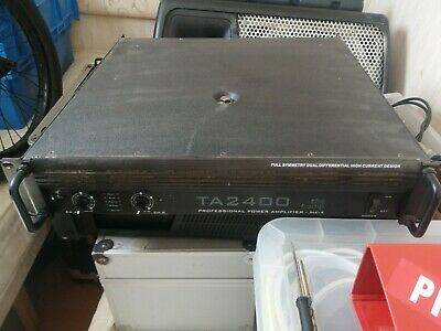 The T. Amp TA 2400 Professional Power Amplifier - MK - X • 185£