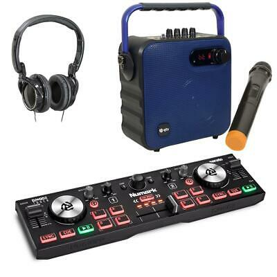 Numark DJ2GO2 Touch Serato DJ Lite Controller With B Party Speaker Mic Package • 129£