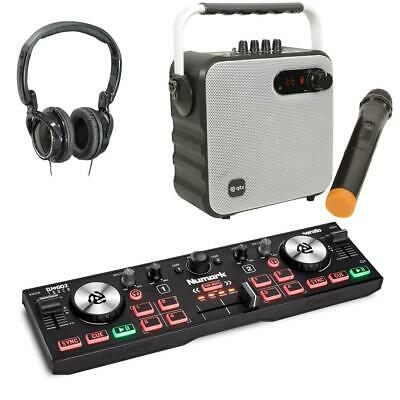 Numark DJ2GO2 Touch Serato DJ Lite Controller With W Party Speaker Mic Package • 129£