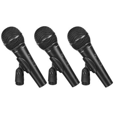 Behringer Ultravoice XM1800S Handheld Supercardioid Dynamic Microphone (Set Of 3 • 55.72£